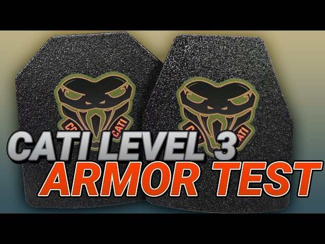 CATI Level 3 Armor vs Lehigh Controlled Chaos