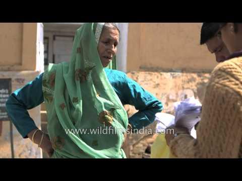 People come to vote - Kendriya Vidyalaya, Lohaghat