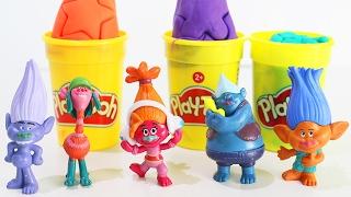 ТРОЛЛИ мультик для детей на русском Развивающее видео для малышей про игрушки Тролли TROLLS