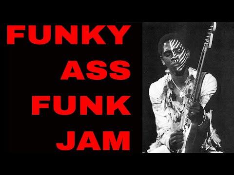 Funky Ass Funk Backing Track in [A Dorian Im - IV7 105 bpm]