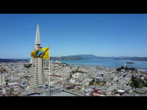 Downtown San Francisco in 4K, DJI Mavic Pro Drone Footage