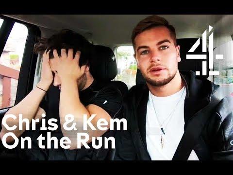 Love Island's Chris & Kem Break Their Phone   Celebrity Hunted