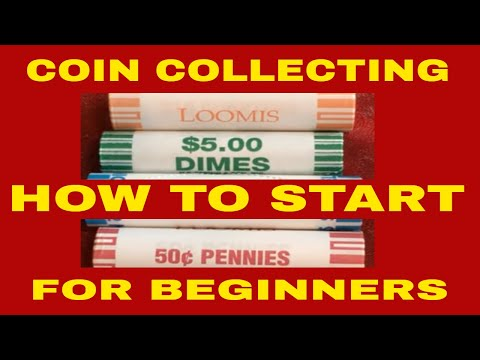 COIN COLLECTING FOR BEGINNERS PT3-HOW TO START A COIN COLLECTION?