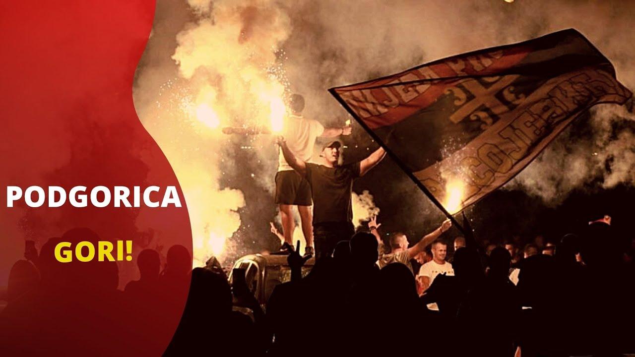 Download Hiljade ljudi na ulicama slavilo pad Mila Đukanovića a onda je nastao pravi haos! LETELE I KAMENICE!