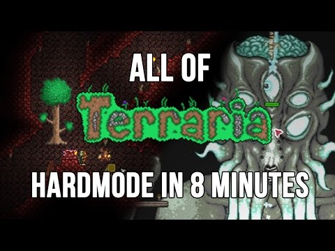 All Of Terraria's Hardmode In 8 Minutes