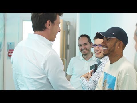 Back to Work with Toto Wolff!