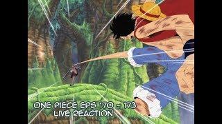 Video One Piece Eps 170 - 173 Live Reactions *Read Description* download MP3, 3GP, MP4, WEBM, AVI, FLV September 2018