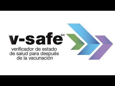 Use v-safe para informar cómo se siente después de la vacuna COVID-19
