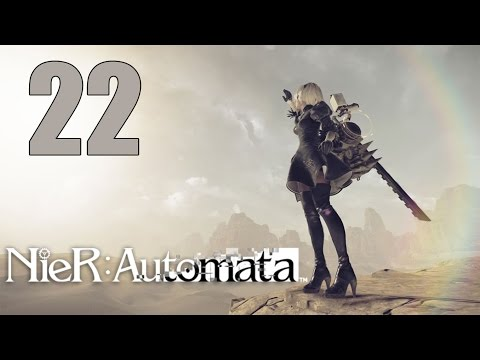 NieR: Automata - Let's Play Part 22: Ruler of the Deep