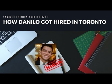 How Danilo got a Database Developer Job in Toronto