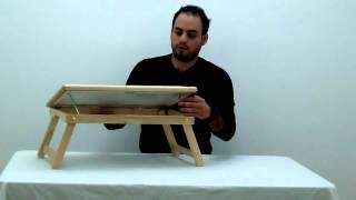 Complete Medical_wooden-tilt Bed Tray