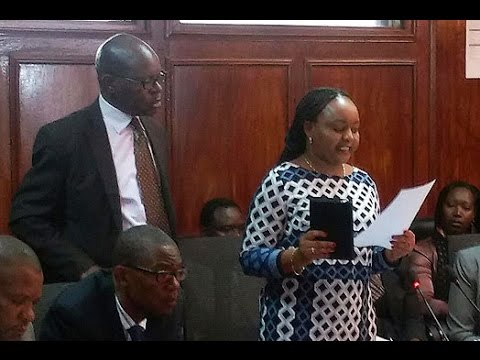 FULL VIDEO: Waiguru grilled by Parliament over NYS scam