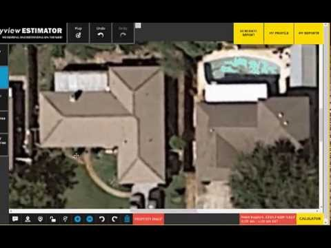How To Measure A Roof With Skyview Estimator App   YouTube