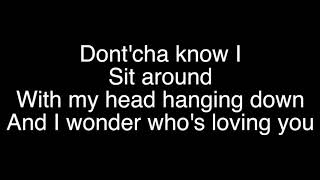 Who's loving you karaoke (shorter version)