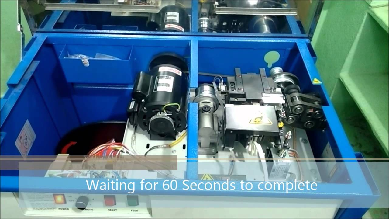 demo semi automatic strapping machine by je infotronix youtube rh youtube com Poly Strapping Machine Automatic Semi-Automatic Strappers
