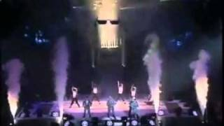 East 17 Let It Rain Dance Machine In Paris YouTube