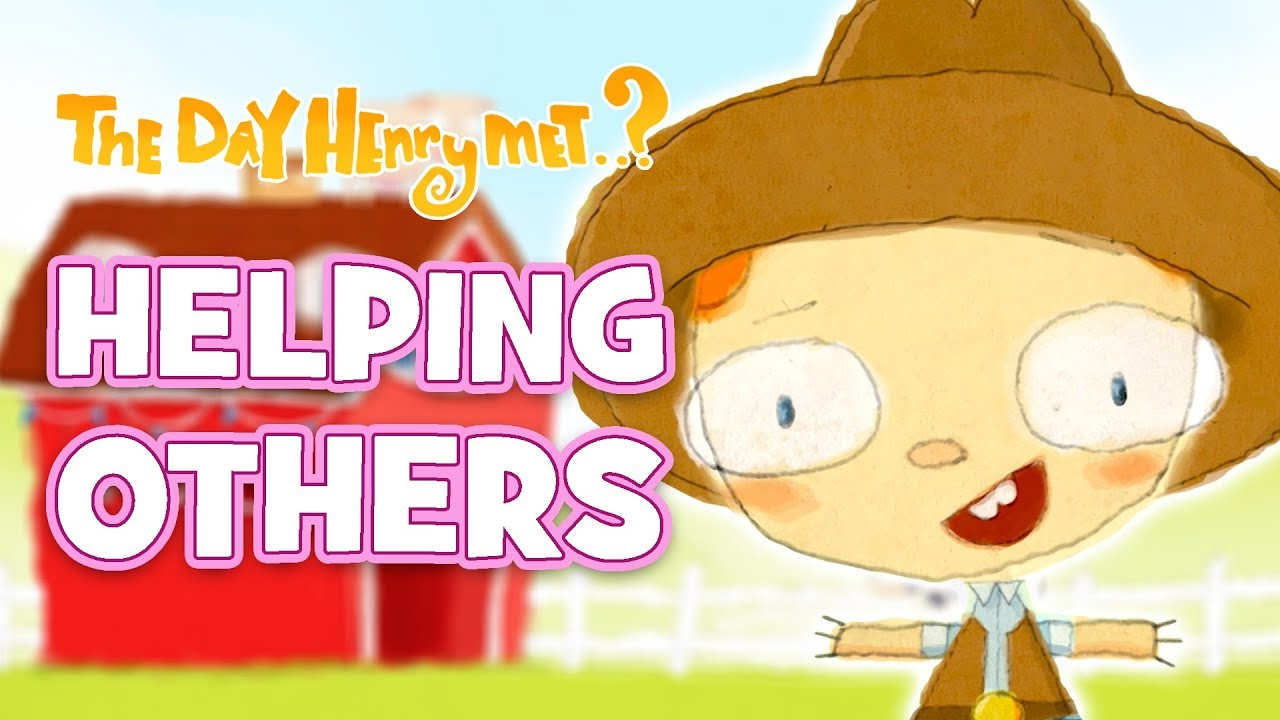 helping others - henry saves the day | cartoons for kids | the day