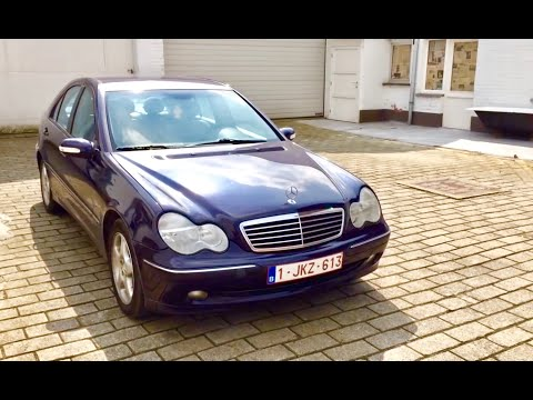 mercedes benz c220cdi avantgarde w203 youtube. Black Bedroom Furniture Sets. Home Design Ideas