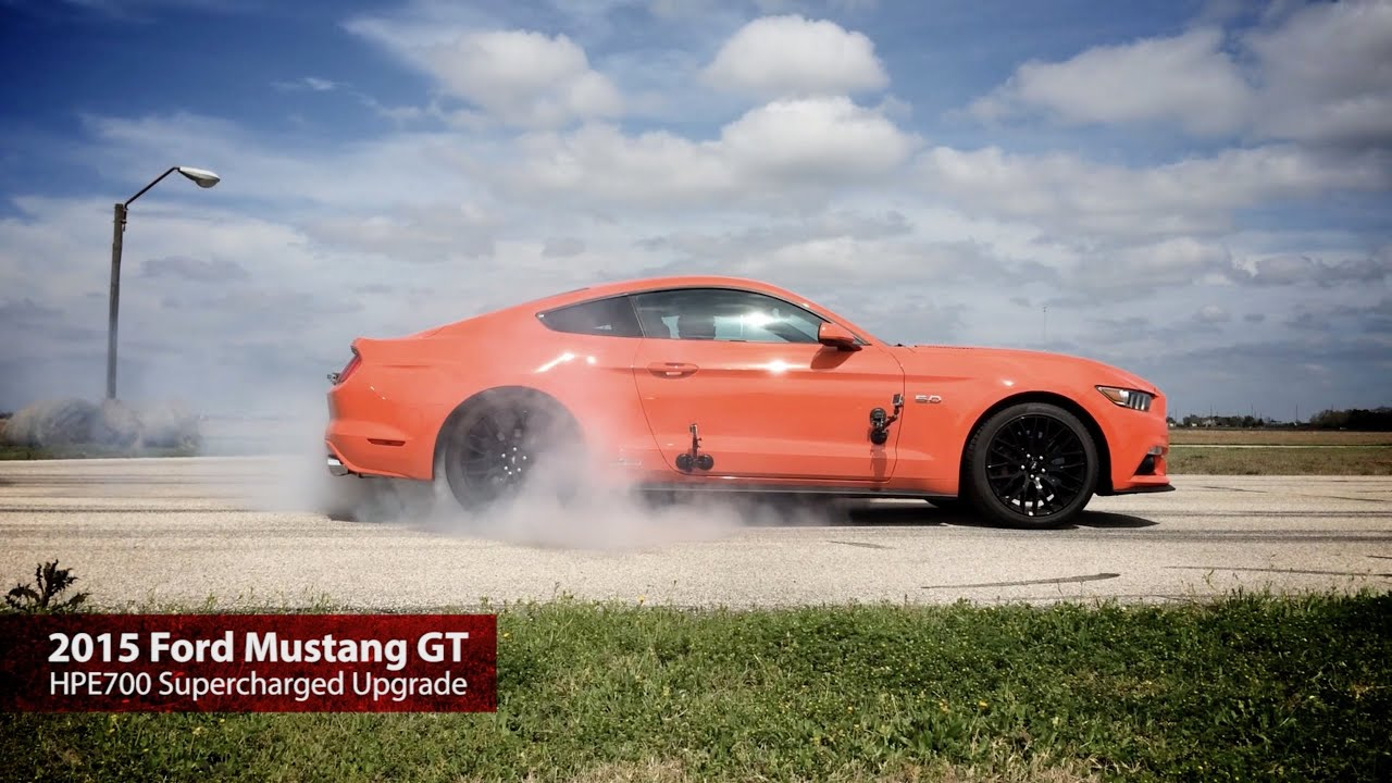Hpe700 supercharged 2015 mustang gt test drive with john hennessey youtube
