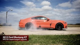 HPE700 Supercharged 2015 Mustang GT Test Drive with John Hennessey