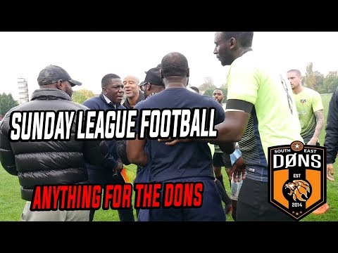 "SE DONS: LEAGUE MATCH 4 - ""Anything For The Dons"""