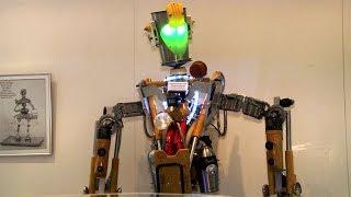 Выставка роботов в Ошмянах