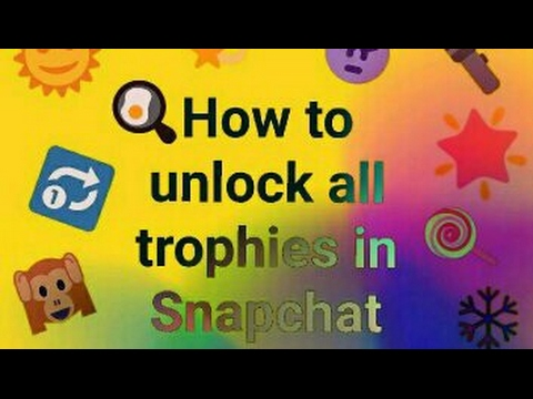 Image result for how to unlock snapchat trophies