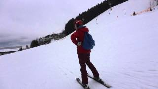 Обучение горным лыжам, Цель-ам-зи, Австрия