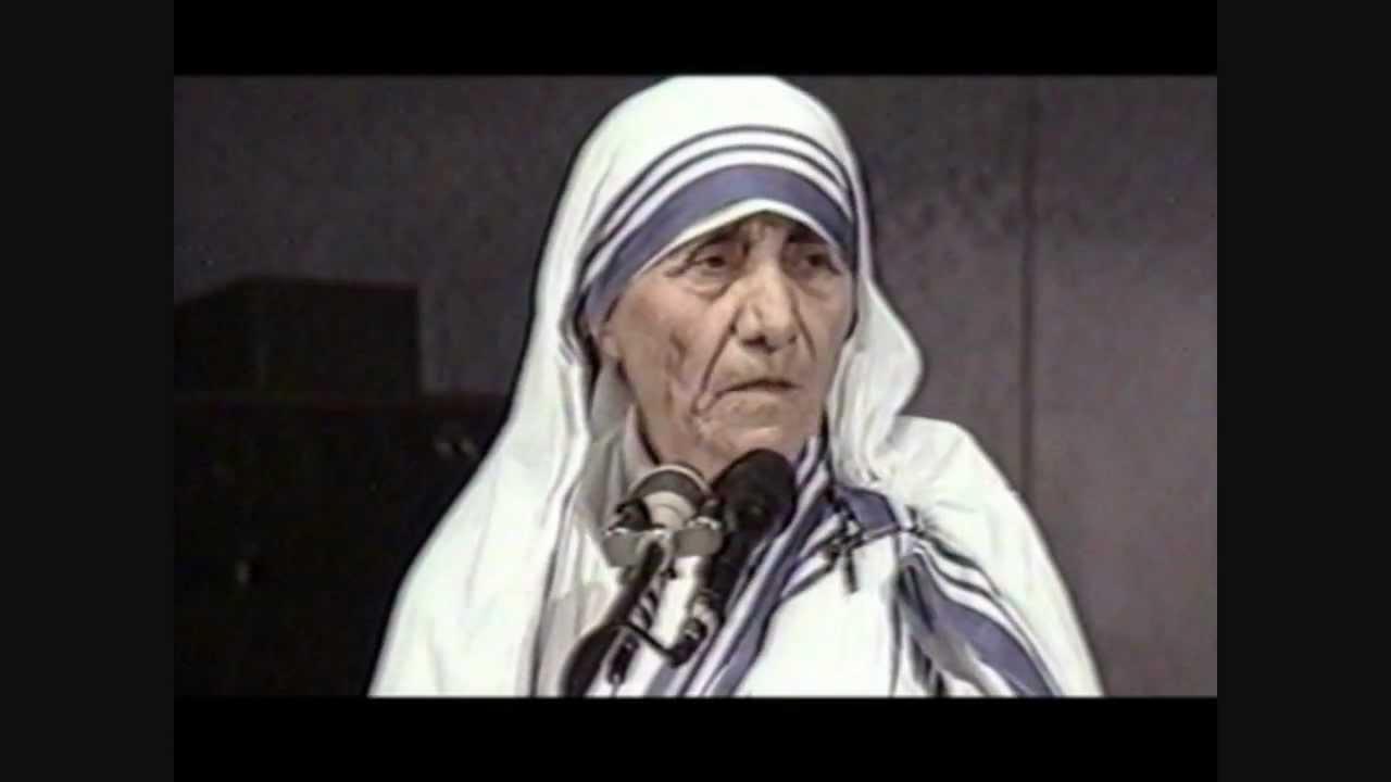 Madre Teresa Di Calcutta La Provvidenza Youtube