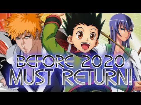 Best Anime Openings 2020 TOP 20 Most Anticipated Anime That Must Return Before 2020!   YouTube
