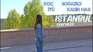 KOÇ, BOĞAZİÇİ, İTÜ, KHAS | İstanbul Üniversite Tercihleri 1