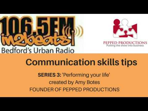PERFORMING YOUR LIFE   'Expect the unexpected' SERIES 3, EPISODE 1