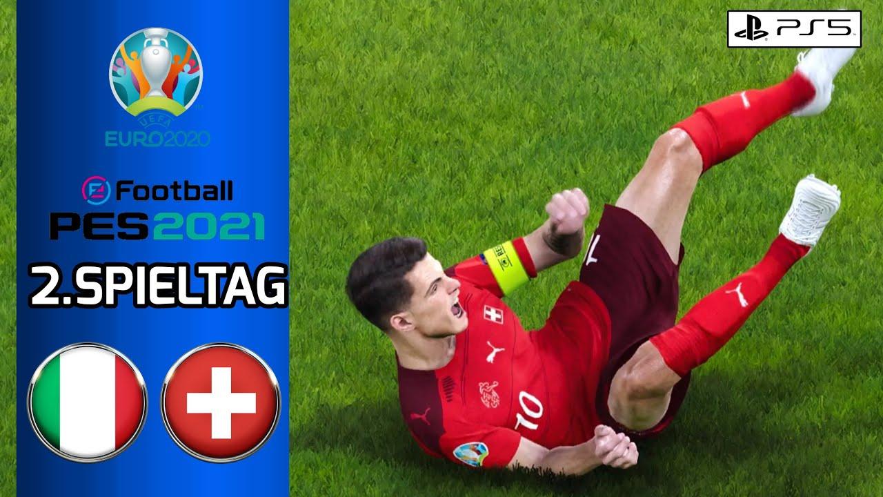 [PS5] PES 21: Italien vs. Schweiz l UEFA EURO 2020/2021 Prognose l Deutsch [FULL HD]