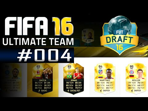 FIFA16: ULTIMATE TEAM ★ Part #004 - Im Draft Modus vs. Messi & Ronaldo   Chemie Fail [60FPS]