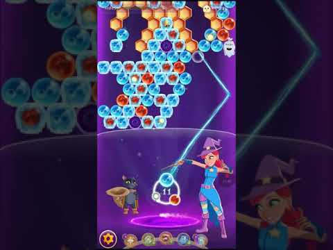 Bubble Witch 3 Saga Level 1136 ~ No Boosters