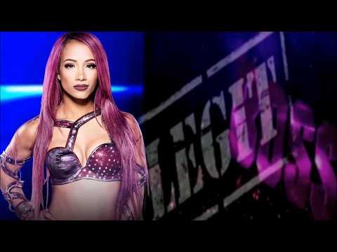 WWE Sasha Banks Theme - Sky's The Limit + Arena & Crowd Effect! w/DL Links!