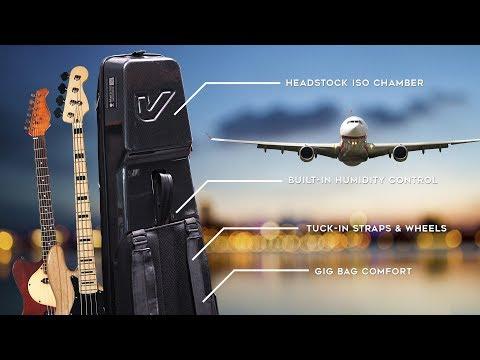 Gruv Gear Kapsule // World's Most Advanced Travel Guitar Bag