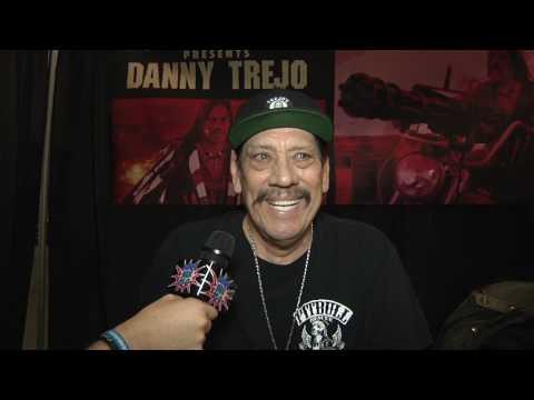 Danny Trejo Interview   East Coast Comicon 2017   Comics, Beer & Sci-fi
