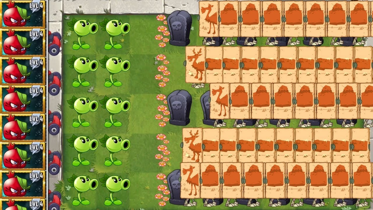 Plants vs Zombies 2 Walkthrough Hard Levels Primal Epic Quest Bombegranate  Premium Plant PVZ 2