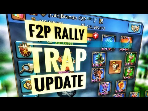 Lords Mobile F2P Rally Trap Update