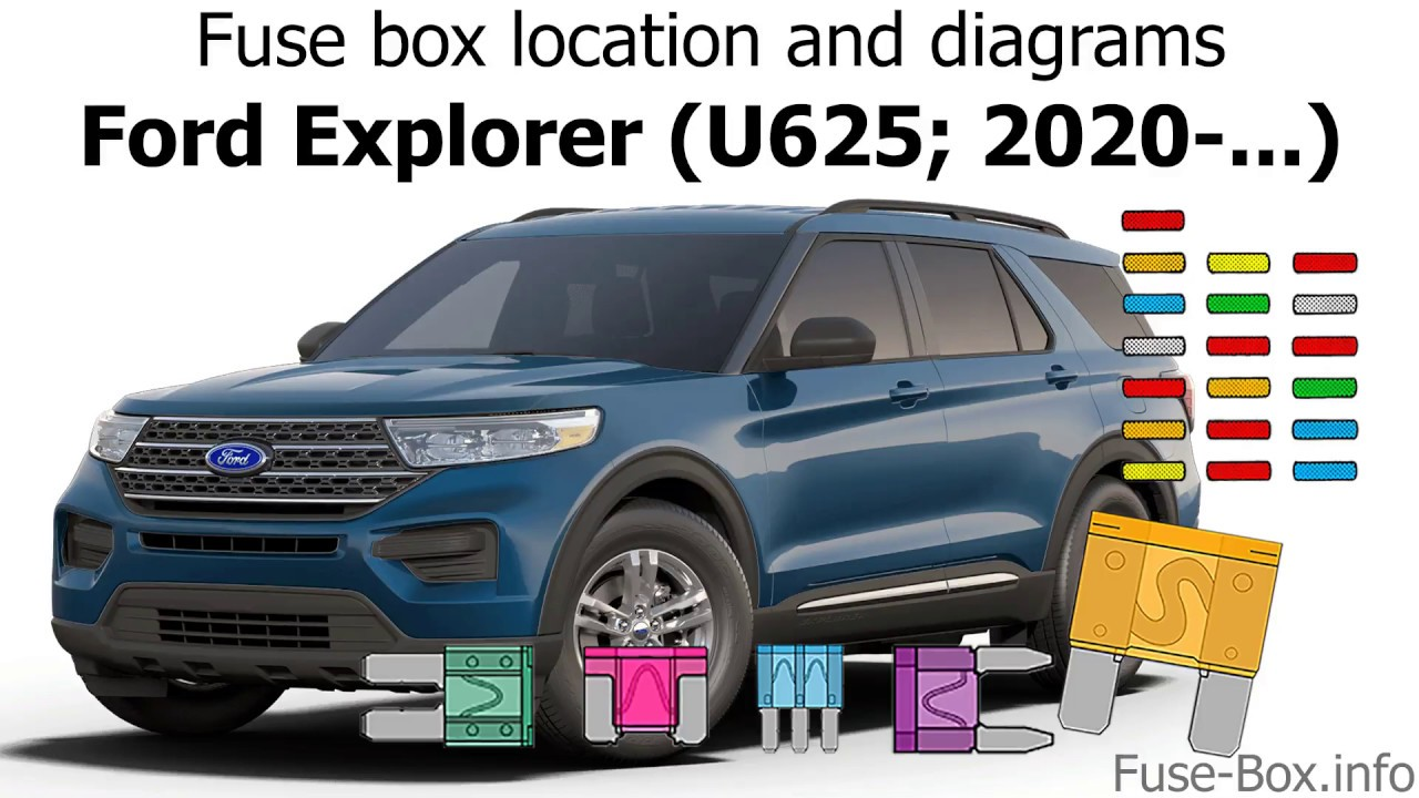 Fuse Box Location And Diagrams  Ford Explorer  U625  2020-