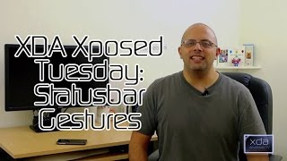 Statusbar Gestures - XDA Xposed Tuesday