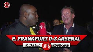 E. Frankfurt 0-3 Arsenal | Emery Still Doesn't Know His Starting XI