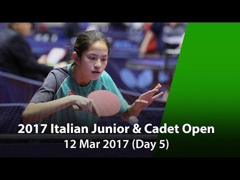 2017 ITTF Italian Junior & Cadet Open - Day 5