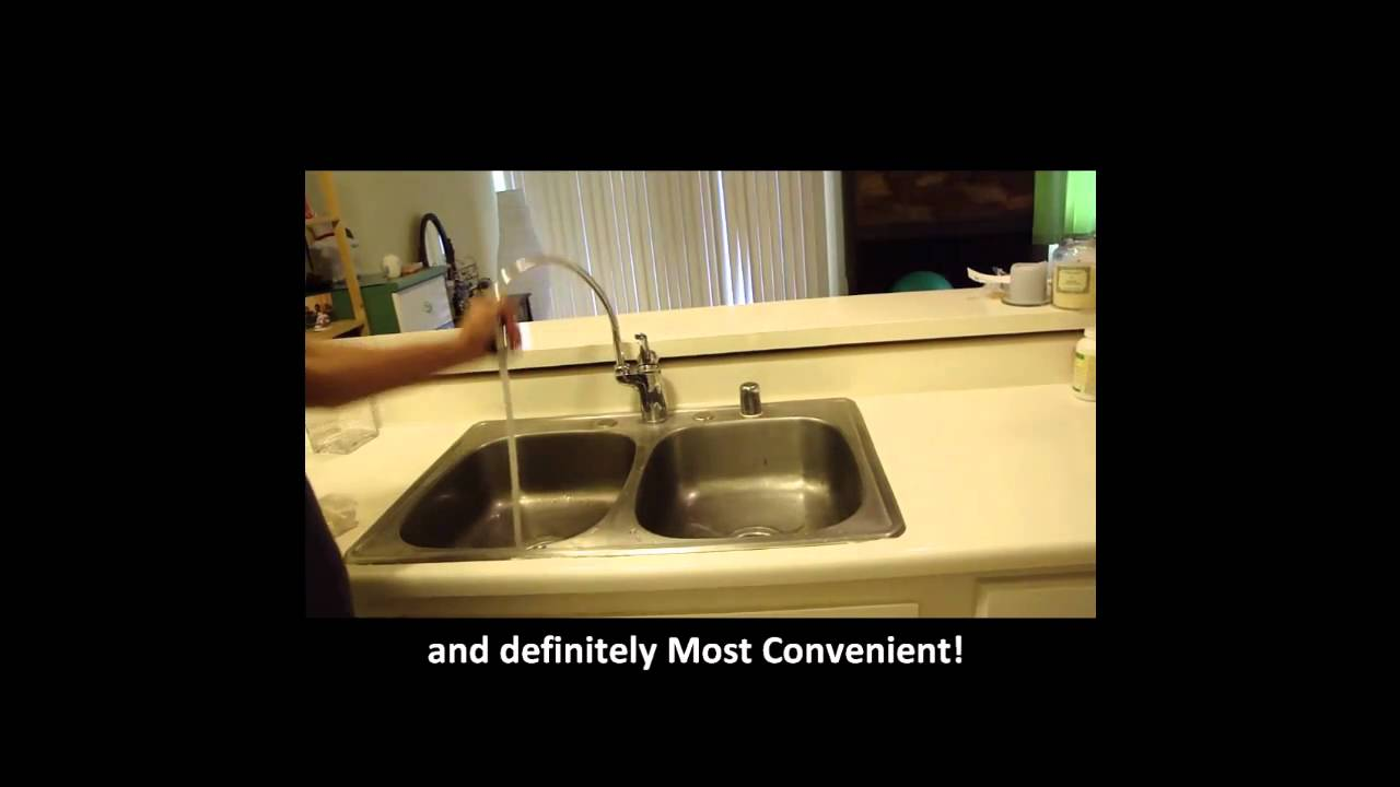 Cobra Faucet USA PSS-162 DECK MOUNT KITCHEN FAUCET - YouTube