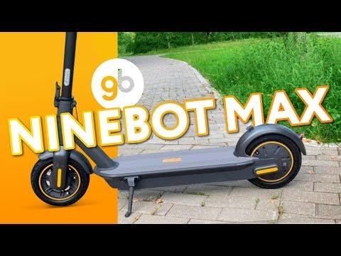 Ninebot KickScooter Max - Роллс-ройс среди самокатов! Двигайся по Максимуму везде и повсюду!