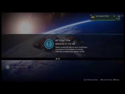 27b6a8f6efe63 Destiny Caterpillar   Hawk Error Updates  BungieHelp - YouTube