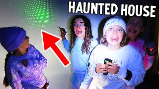 HUNTING FOR THE GHOST IN OUR HAUNTED HOUSE...