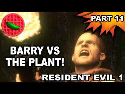 BEES, HORROR PLANTS, AND BARRY'S LITTLE FRIEND! -- Let's Play Resident Evil Part #11 (1080p 60fps)