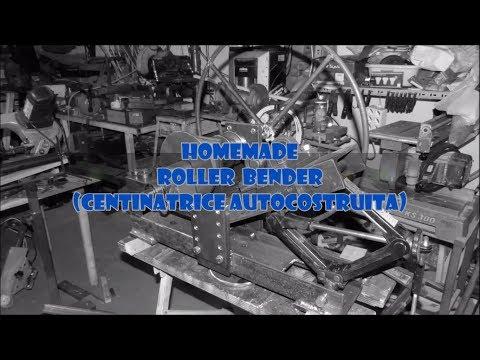 DIY - Metal Roller Bender ( Costruzione Piegatrice per Metalli )